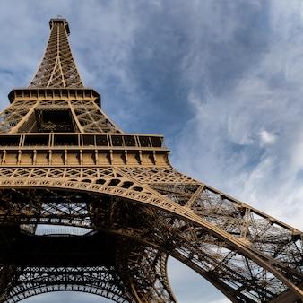 Wieża eiffla. paryż, francja