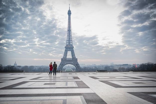Wieża eiffla we francji