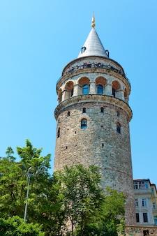 Wieża galata w stambule, turcja