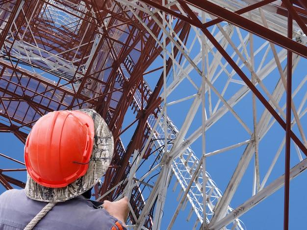 Wieża łączności technika