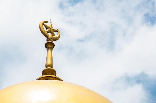 Wieża meczetu w singapurze