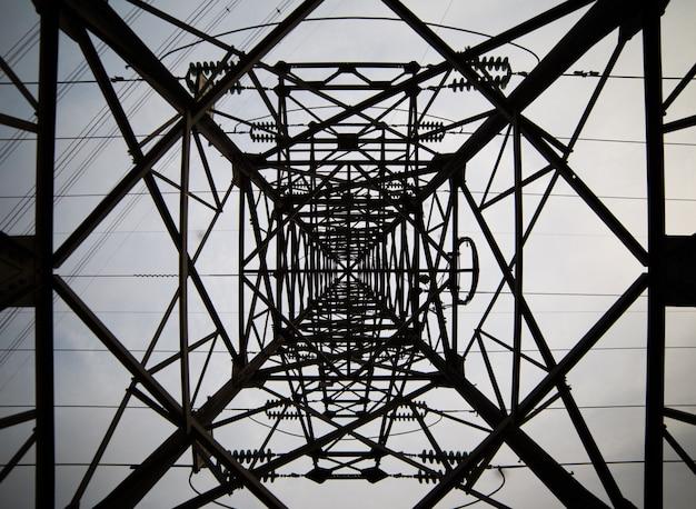Wieża światła wewnątrz widoku