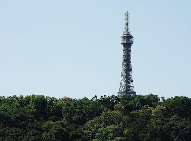 Wieża telewizyjna w pradze zizkov
