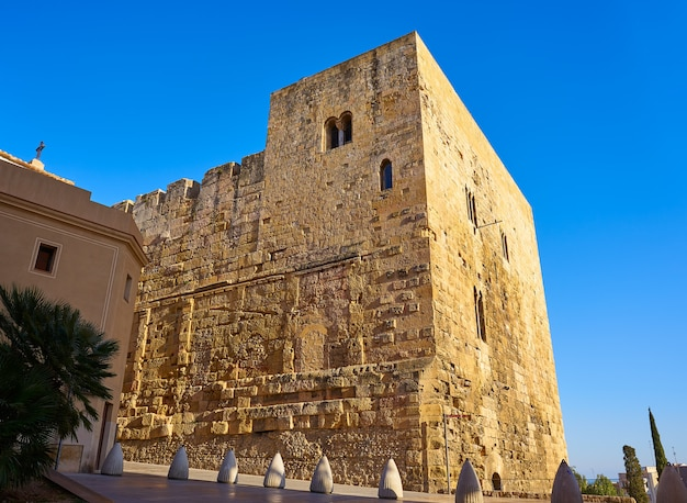 Wieża torre del pretori w tarragonie