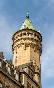 Wieża w mieście luksemburg