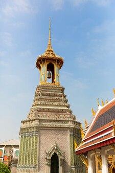 Wieża w świątyni wat po