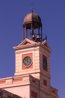 Wieża zegara przy ul