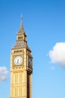 Wieża zegarowa big ben