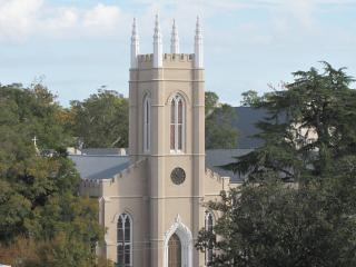 Wieża zegarowa kościoła