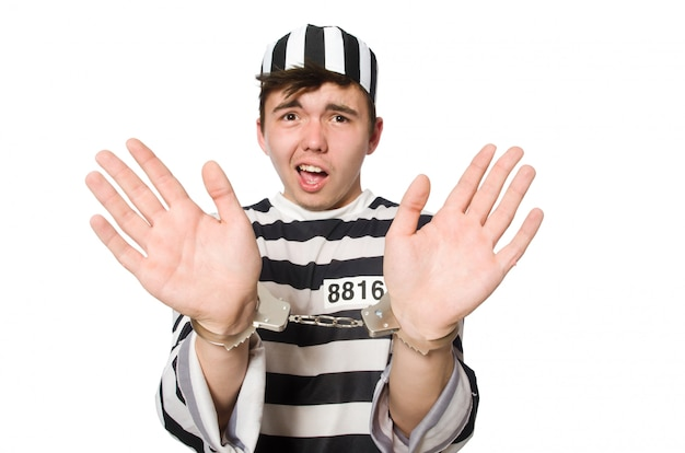 Więzień odizolowywający na bielu