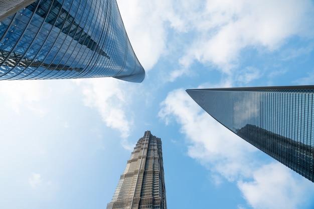 Wieżowce centrum finansowego, szanghaj, chiny