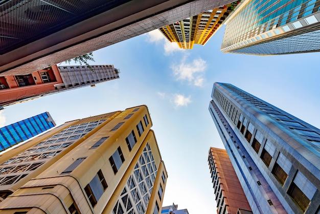 Wieżowce hongkongu