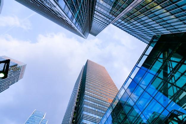 Wieżowiec biurowca w londynie