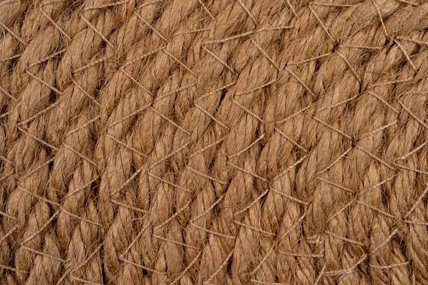 Wiklinowa słoma serwetka brązowa jako tło