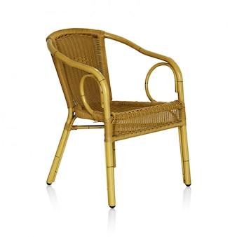 Wiklinowe krzesło