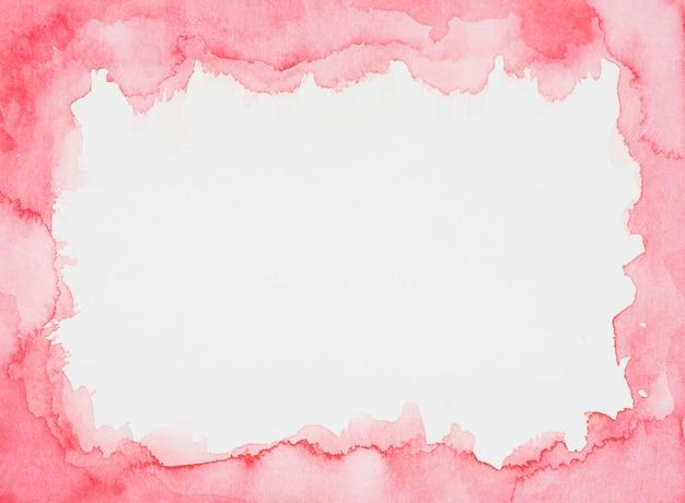 Winnego ramki farb na białej kartce