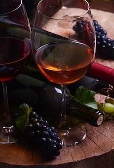 Winogrona i wino