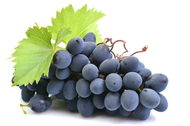 Winogrona z liści zbliżenie
