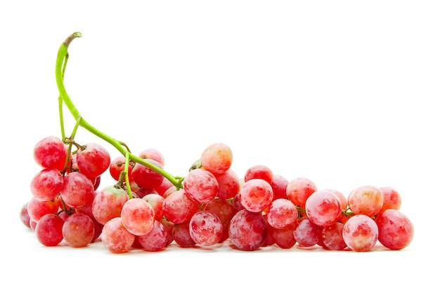 Winogrono na białym tle
