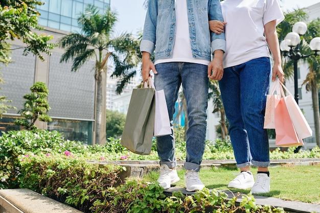 Wiosenna wyprzedaż zakupów
