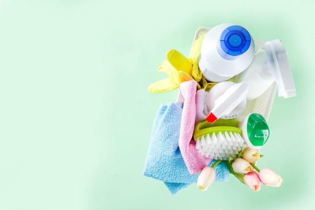 Wiosenne porządki i sprzątanie domu