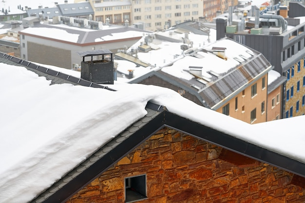 Wioska narciarska pas de la casa w andorze