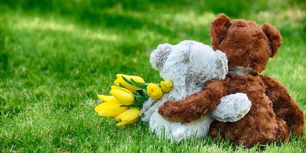 Wiosna. przyjaciele