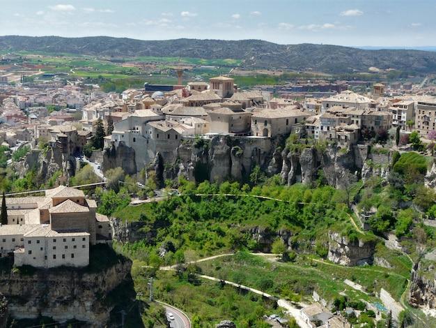 Wiszące domy cuenca w hiszpanii