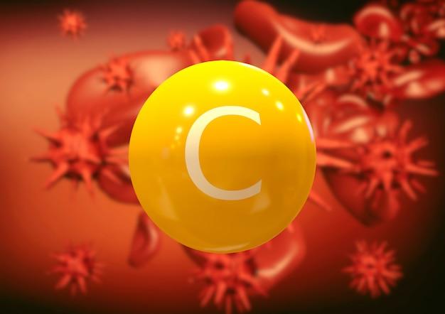 Witamina c walczy z wirusami i bakteriami w krwioobiegu