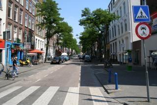 Witte de withstraat, znaki