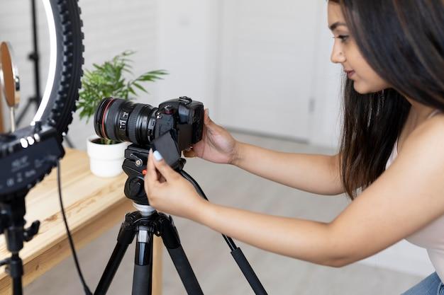 Wizażystka bloguje swoje tutoriale