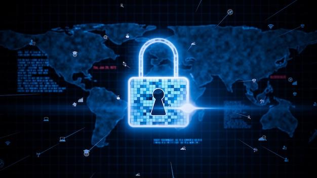 Wizjonerska technologia szyfrowania cyberbezpieczeństwa w celu ochrony prywatności danych