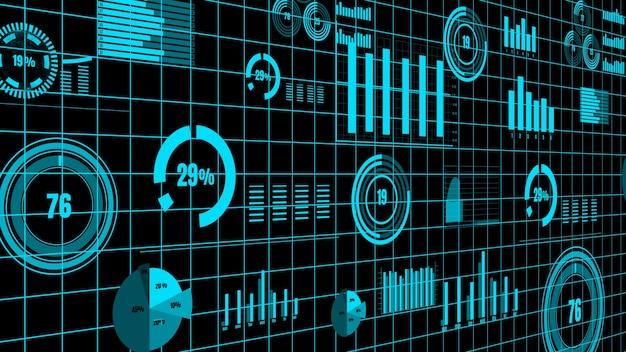 Wizjonerski pulpit biznesowy do analizy danych finansowych