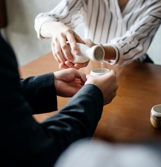 Wlewanie sake