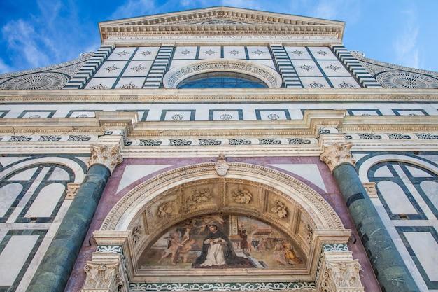 Włochy, florencja: santa maria novella, jeden z najważniejszych kościołów miasta