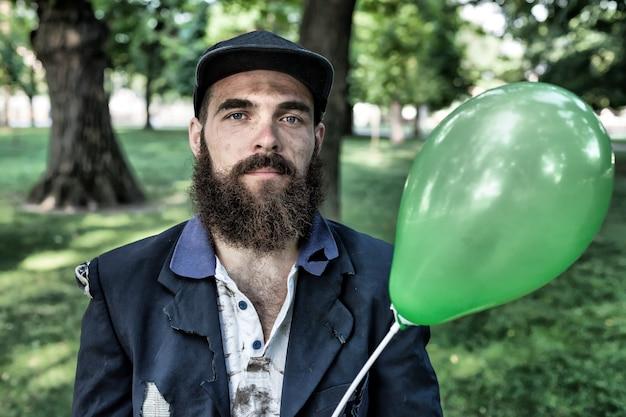 Włóczęga z balonem