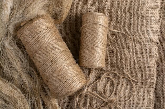 Włókna lniane do produkcji tkanin lnianych