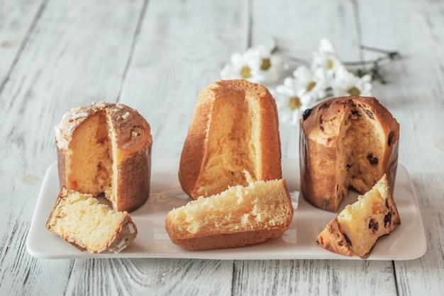Włoska kolekcja świątecznych ciast