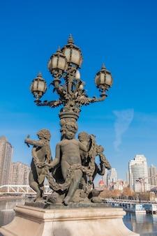 Włoski styl miasto w tianjin, chiny