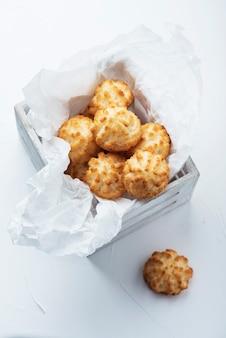 Włoskie ciasteczka kokosowe
