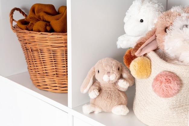 Wnętrze Dekoracji Pokoju Dziecięcego Z Zabawkami Darmowe Zdjęcia