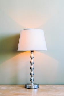 Wnętrze dekoracji światła lampy