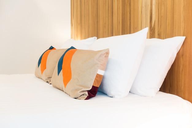Wnętrze domu tkaniny poduszki domu