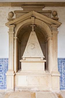 Wnętrze klasztoru chrystusa