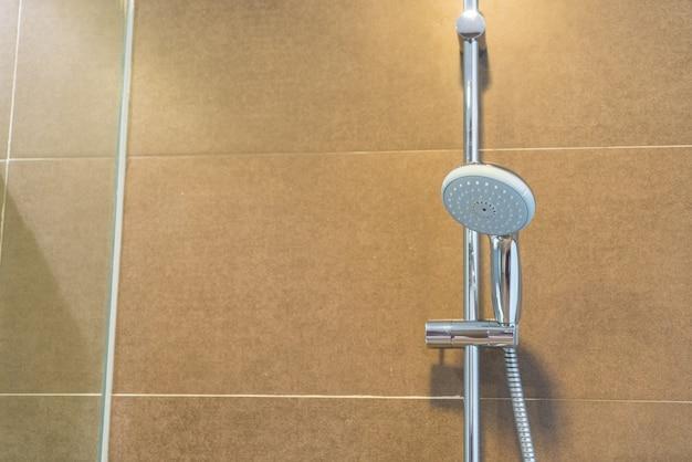 Wnętrze nowoczesne łazienki.