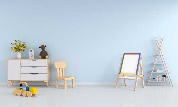 Wnętrze pokoju dziecka dla makieta
