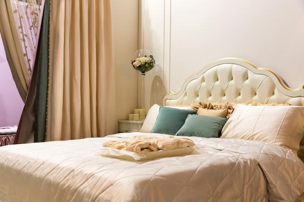 Wnętrze sypialni w stylu vintage