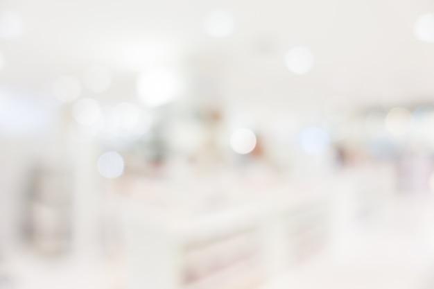 Wnętrze szpitala i kliniki blur