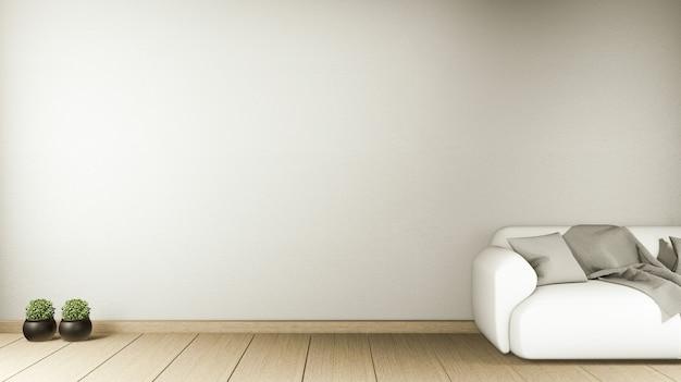 Wnętrze w stylu chińskim wnętrze pokoju. renderowanie 3d