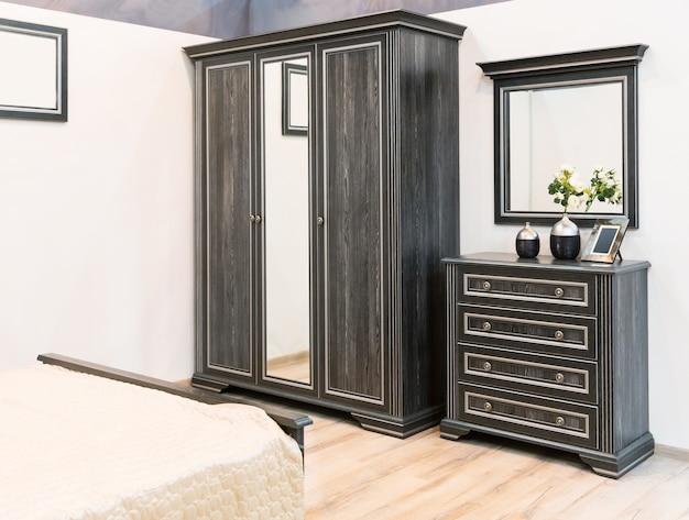 Wnętrze wspaniałej sypialni